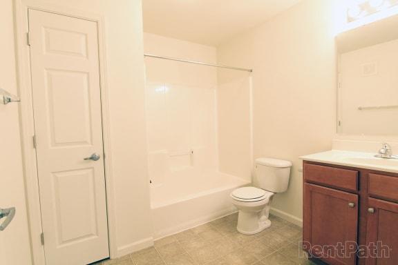 Cedar Bathroom at Hawthorne Properties, Indiana, 47905