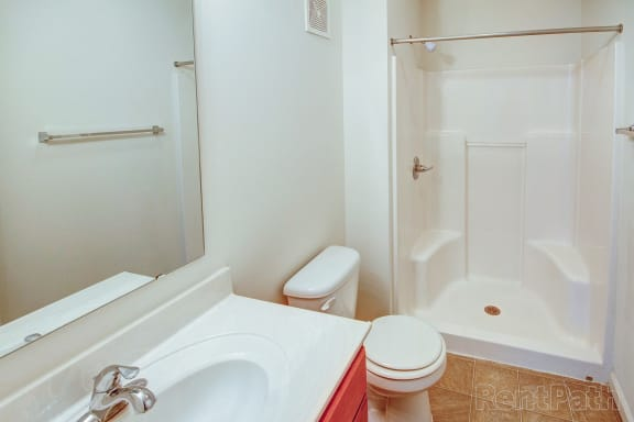 Cypress Master Bathroom at Hawthorne Properties, Indiana, 47905