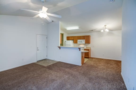 Cypress Living Room at Hawthorne Properties, Lafayette