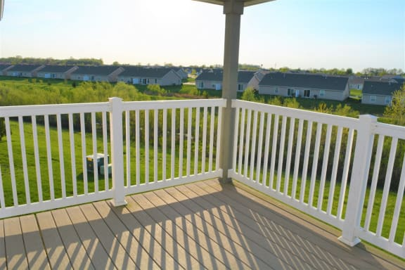 Cypress Balcony View at Hawthorne Properties, Lafayette, IN