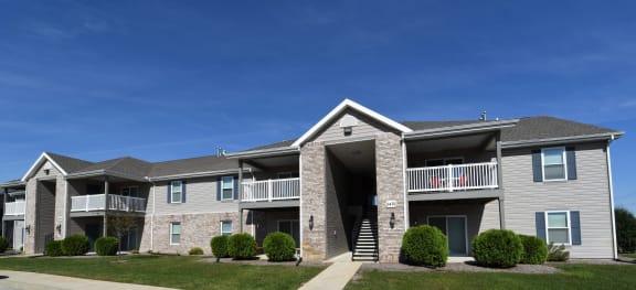 Cedar Exterior View at Hawthorne Properties, Indiana, 47905
