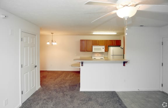 Cedar Living Room at Hawthorne Properties, Indiana, 47905