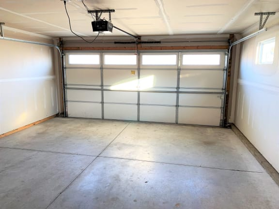 2 car attached garage  at Hawthorne Properties, Lafayette, 47905