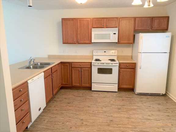 Fully Equipped Kitchen  at Hawthorne Properties, Indiana