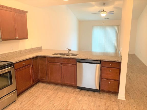 Fully Furnished Kitchen at Hawthorne Properties, Lafayette, IN, 47905