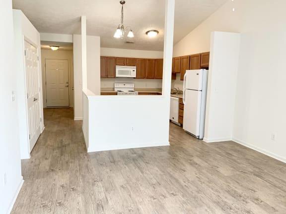 Vinyl Plank Flooring Upgrade at Hawthorne Properties, Lafayette, IN, 47905