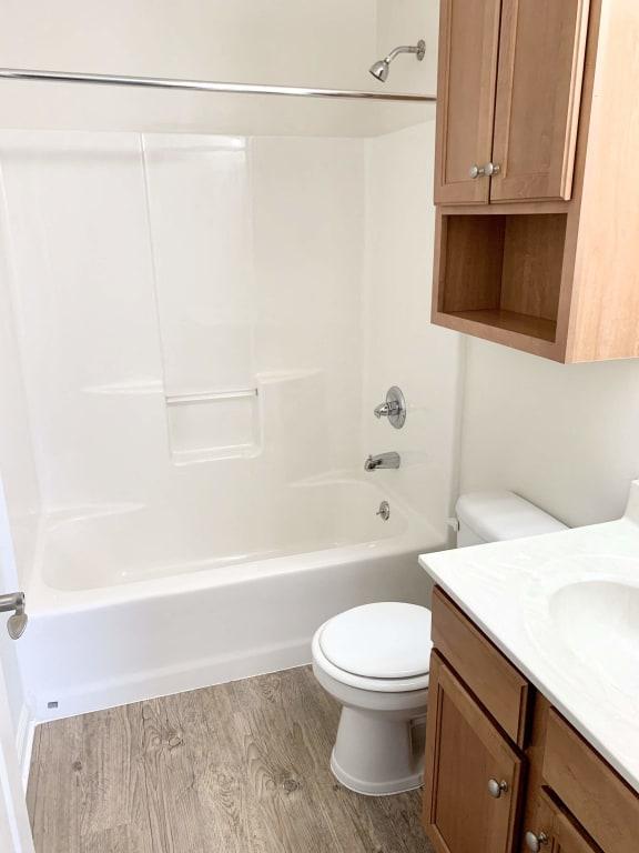 Master Bathroom at Hawthorne Properties, Lafayette, IN