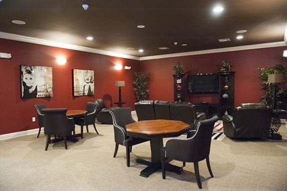 Spacious Clubhouse at The Enclave at Pamalee Square Apartments, Fayetteville, NC,28301