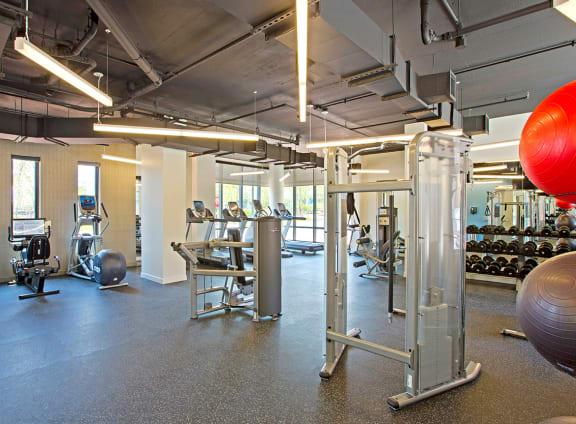 Leading Edge Fitness Center at Aurora, North Bethesda, 20852