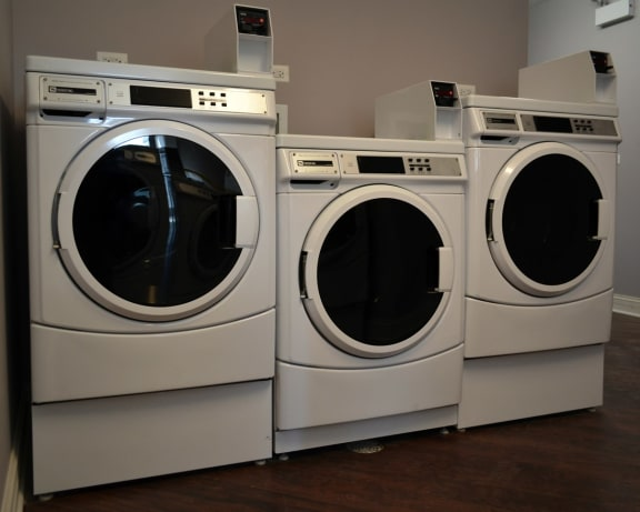 Smart Card Laundry System at Somerset Place Apartments, Chicago, IL, 60640