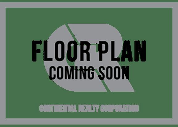 Floor Plan  Three Bedroom Two Bath Floorplan at Brook View Apartments