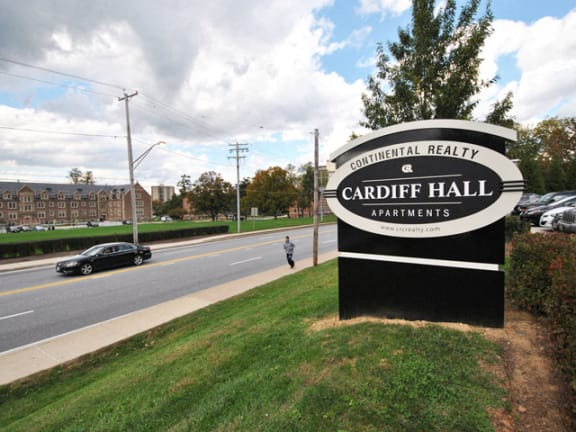 Cardiff Hall Apartments Across from Towson University