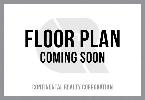 Floor Plan  2 Bedroom 1 Bath - Renovated at Cardiff Hall Apartments
