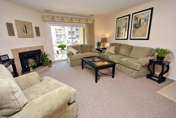 Wall-to-Wall Carpeting at McDonogh Township Apartments, Owings Mills, MD