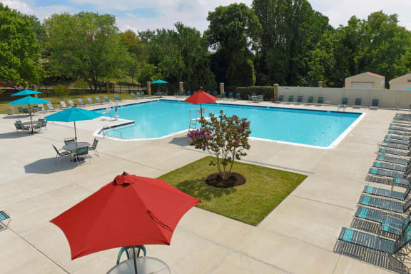 Pool Cabana & Outdoor Entertainment Bar at McDonogh Township Apartments, Owings Mills, MD
