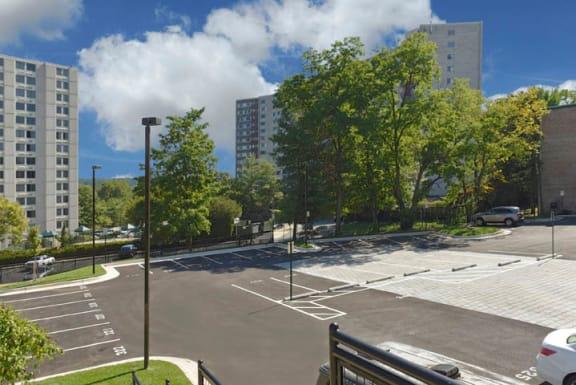 Parking at 101 North Ripley Apartments, Alexandria, VA