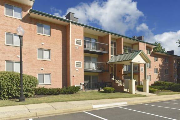 Front View at 101 North Ripley Apartments, Alexandria, VA, 22304
