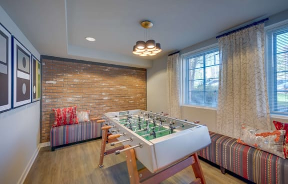 Community Recreation Room at Woodbury Park at Courthouse, Virginia, 22201