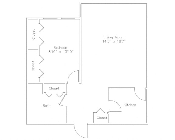 1 Bed Apt in State College