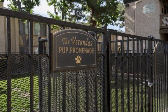 Pet Park, at The Verandas Apartment Homes, West Covina, 91791