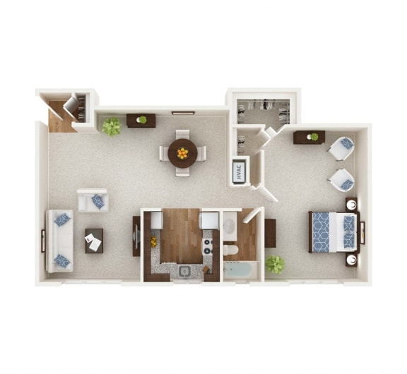 Floor Plan  The Bosley