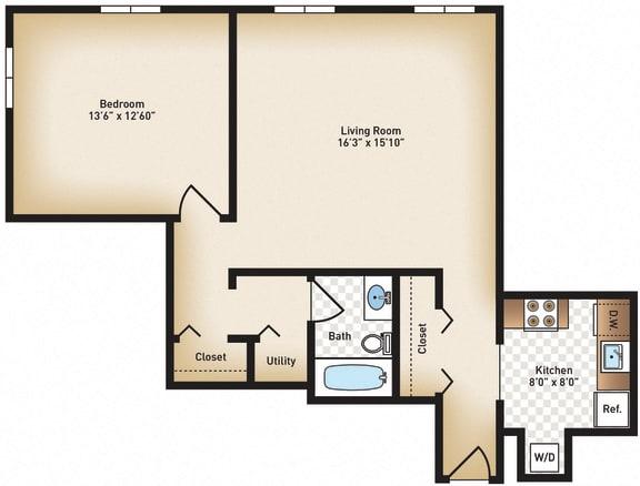 Floor Plan  The Preston