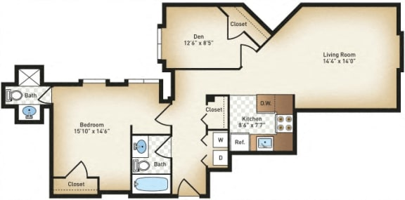 Floor Plan  The Howard
