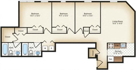 Floor Plan  The St Paul