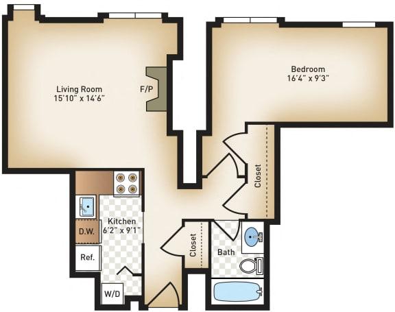 Floor Plan  The Calvert