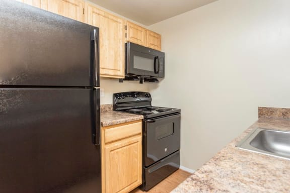 Kitchen at The Birches Apartments, MD 20904