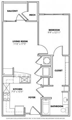 Floor Plan  Floorplan at Windsor at Glenridge, 305 5610 Glenridge Drive, GA, opens a dialog