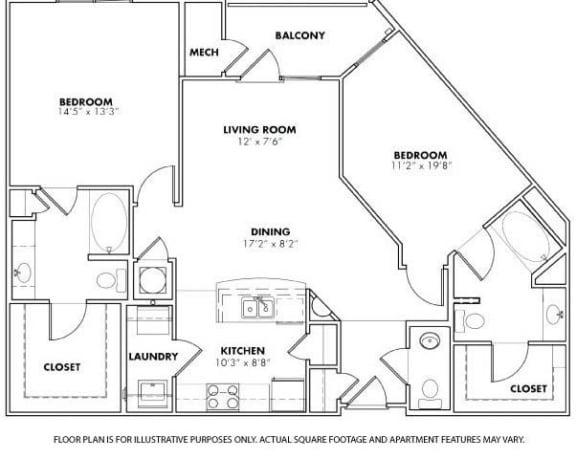 Floor Plan  Floorplan at Windsor at Glenridge, GA 30342, opens a dialog