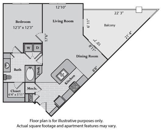 Floor Plan  Essex at Windsor at Brookhaven, 305 Brookhaven Ave., Atlanta, GA 30319, opens a dialog