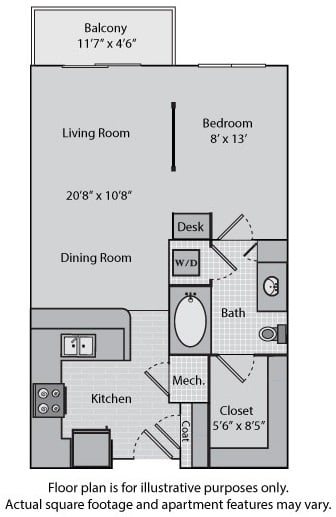 Floor Plan  Lexington at Windsor at Brookhaven, 305 Brookhaven Ave., GA