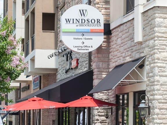 Located Inside Town Brookhaven, a Pedestrian Friendly Village with Dining, Shopping, and Nightlife,at Windsor at Brookhaven, 305 Brookhaven Ave., Atlanta, GA 30319