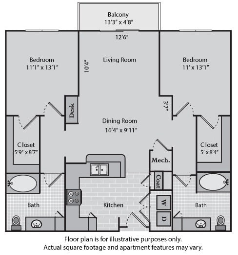Floor Plan  Madison at Windsor at Brookhaven, 305 Brookhaven Ave., GA, opens a dialog