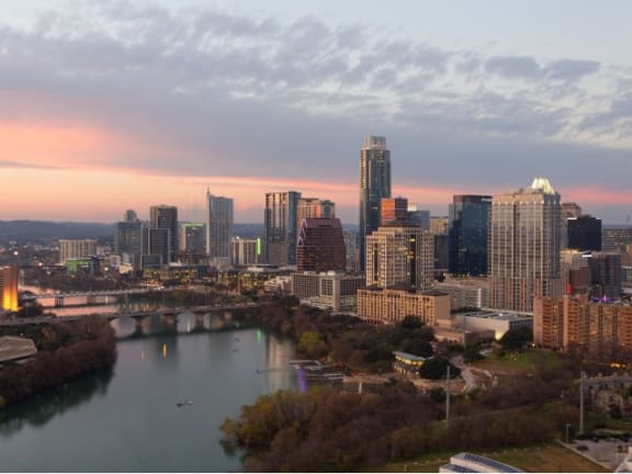 Beautiful Downtown Views at Windsor on the Lake, Austin, TX