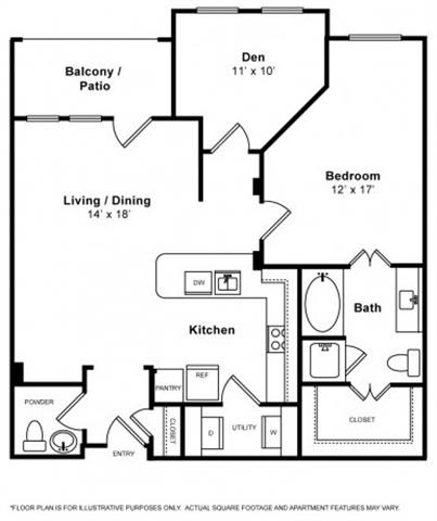 Floor Plan  Buena Vista Floorplan at The Monterey by Windsor