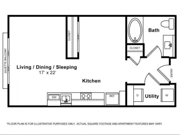 Floor Plan  Carmel Loft Floorplan at The Monterey by Windsor
