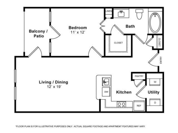 Floor Plan  Laguna Floorplan at The Monterey by Windsor