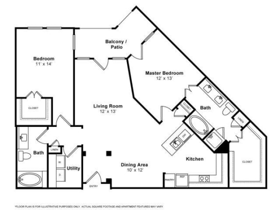 Floor Plan  Querencia Floorplan at The Monterey by Windsor