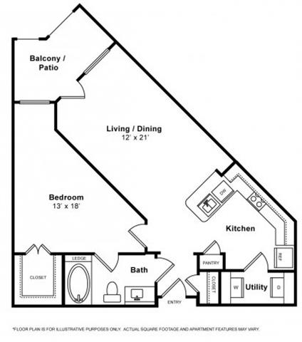Santa Barbara Floorplan at The Monterey by Windsor