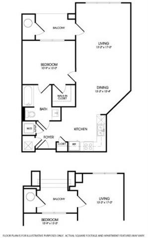 The Barclay Floorplan at The Manhattan Tower and Lofts
