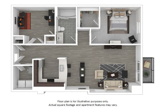 Floor Plan  Delancy floor plan at The Manhattan Tower and Lofts, Colorado, 80202, opens a dialog