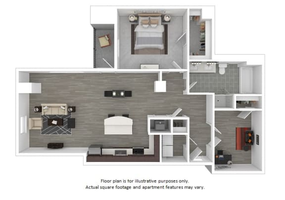 Floor Plan  Williamsburg floor plan at The Manhattan Tower and Lofts, Denver, CO, opens a dialog