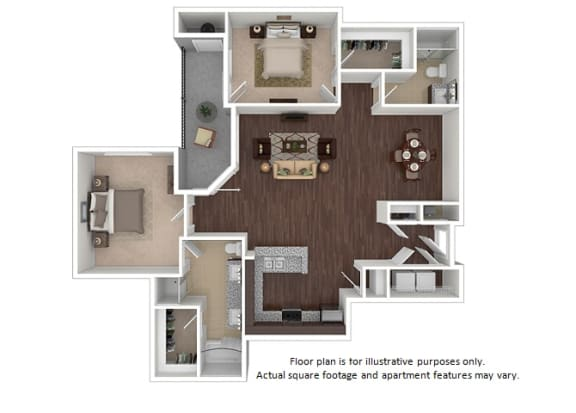 Floor Plan  Windsor 2x2 floor plan at The Manhattan Tower and Lofts, 1801 Bassett Street, 80202, opens a dialog