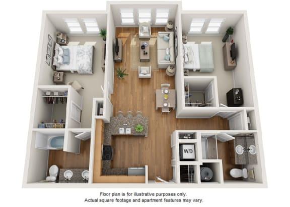 Floor Plan  Chrysos floor plan at Element 47 by Windsor, CO, 80211