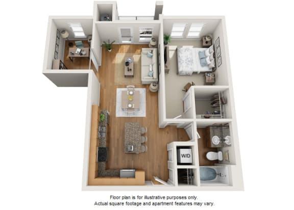 Floor Plan  Hopea floor plan at Element 47 by Windsor, Colorado, 80211, opens a dialog