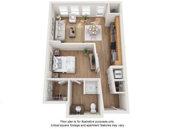 Floor Plan  Platyna floor plan at Element 47 by Windsor, Colorado, 80211