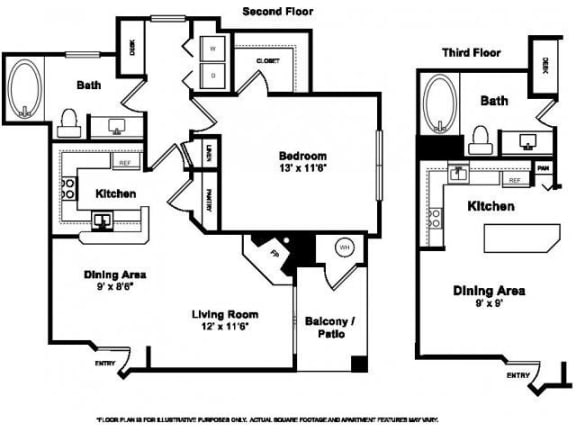 Floor Plan  Fox Point Floorplan at Windsor at Meridian